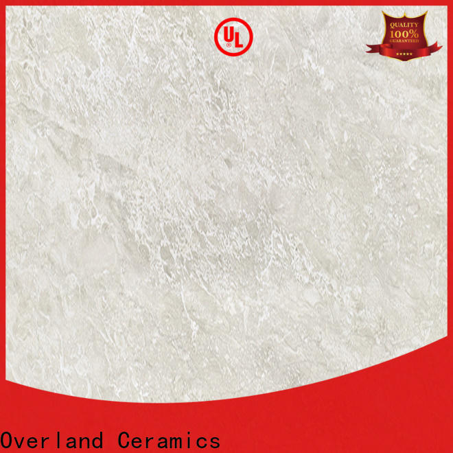 Overland ceramics grey tile flooring supplier for hotel