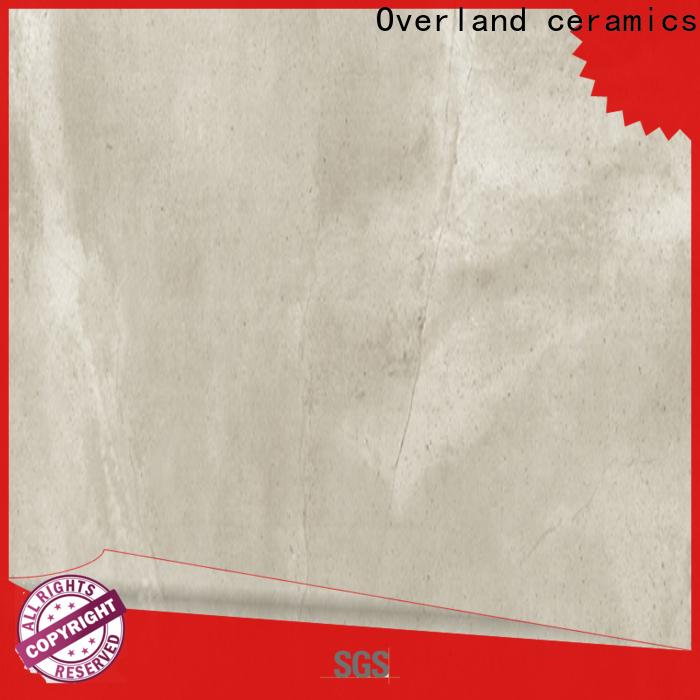 Overland ceramics grey bathroom floor tiles manufacturers for home