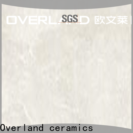 Overland ceramics cusotm marble ceramic tile design for home