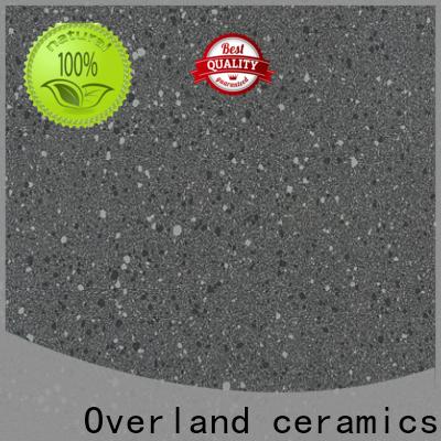 Overland ceramics unglazed porcelain floor tile design for garden
