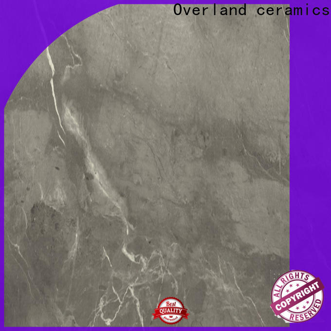 Overland ceramics high quality marble look tiles promotion for bathroom