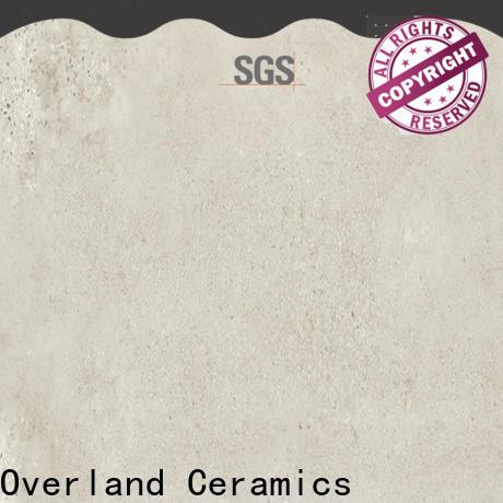 Overland ceramics cusotm decorative floor tile price for kitchen