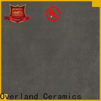 Overland ceramics black tile bathroom supplier for bathroom