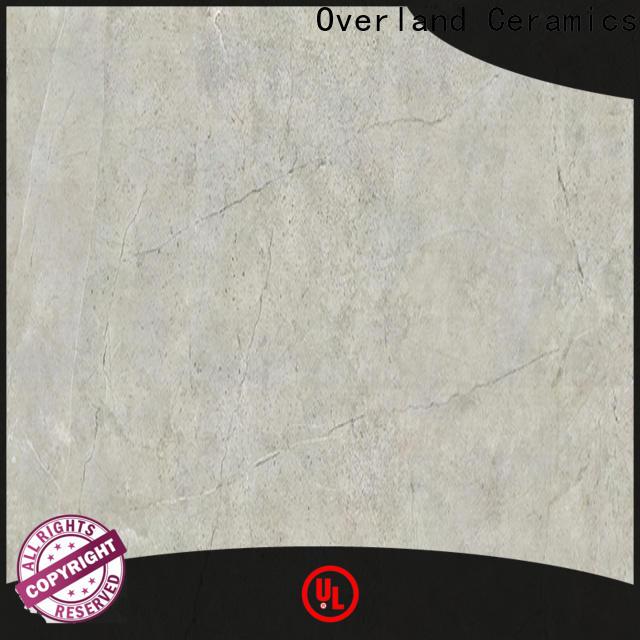 Overland ceramics polished marble floor tiles manufacturers for home