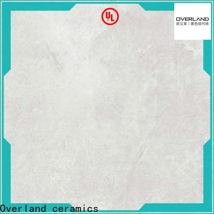 Overland ceramics cusotm silk tile supplier for Villa