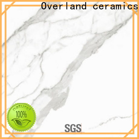 Overland ceramics decorative calacatta marble tiles company for hotel