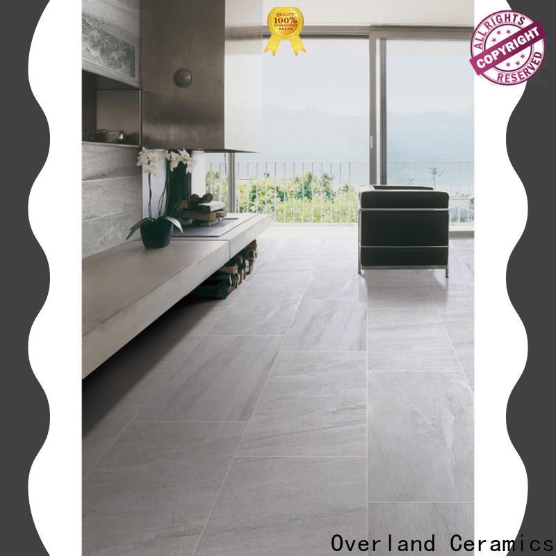 Overland ceramics cusotm large floor tiles company for kitchen