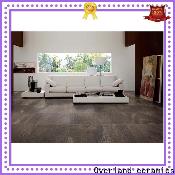 Overland ceramics black marble tile bathroom supplier for hotel