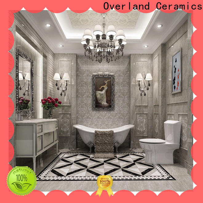 Overland ceramics high quality marble wall tile bathroom manufacturers for kitchen