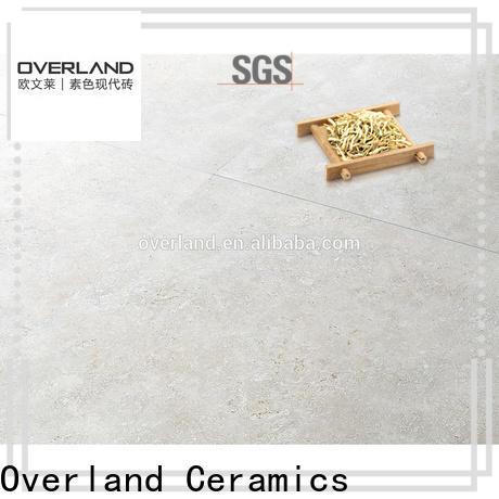 Overland ceramics best stone style tiles design for apartment