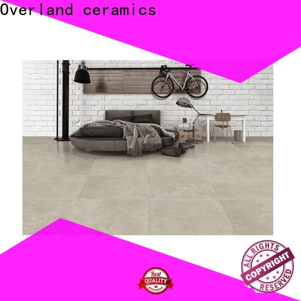 Overland ceramics high quality stellar tile design for apartment