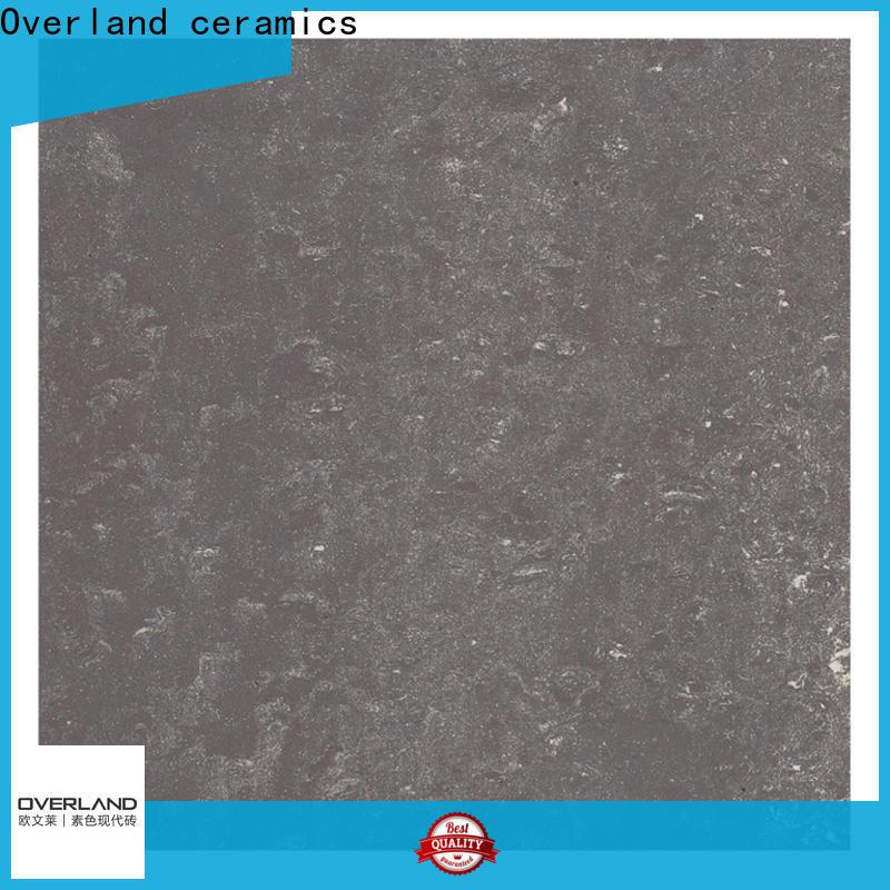 Overland ceramics wholesale stone look tiles supplier for bathroom