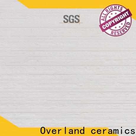 Overland ceramics marble look alike supplier for hotel