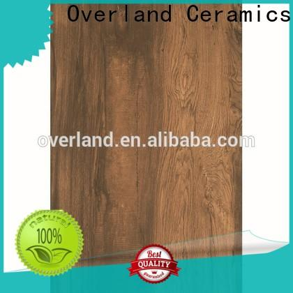 Overland ceramics cheap porcelain wood tile for sale for bathroom