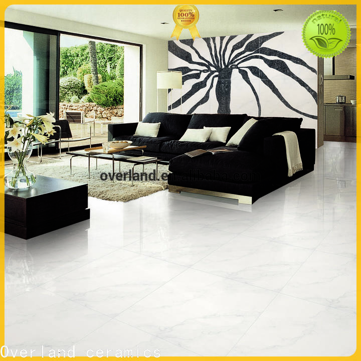 Overland ceramics overland ceramics super white polished porcelain tiles price for home