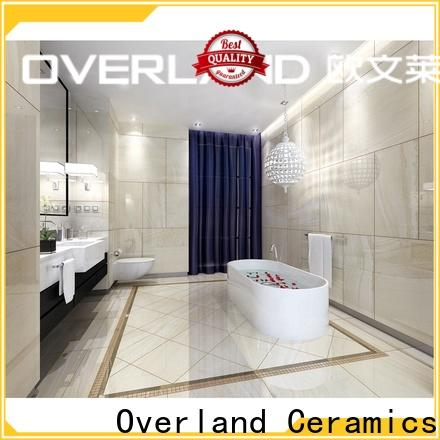 Overland ceramics glass bubble tile supplier for home