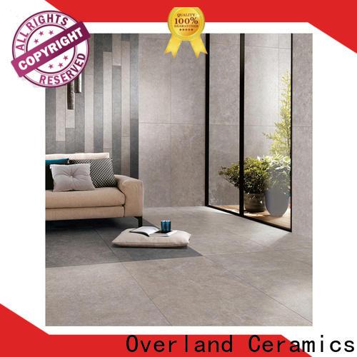 Overland ceramics wood tile for floors factory for home