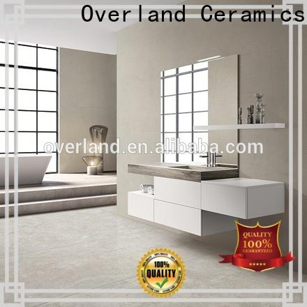 overland ceramics blue and white cement tile supplier for hotel
