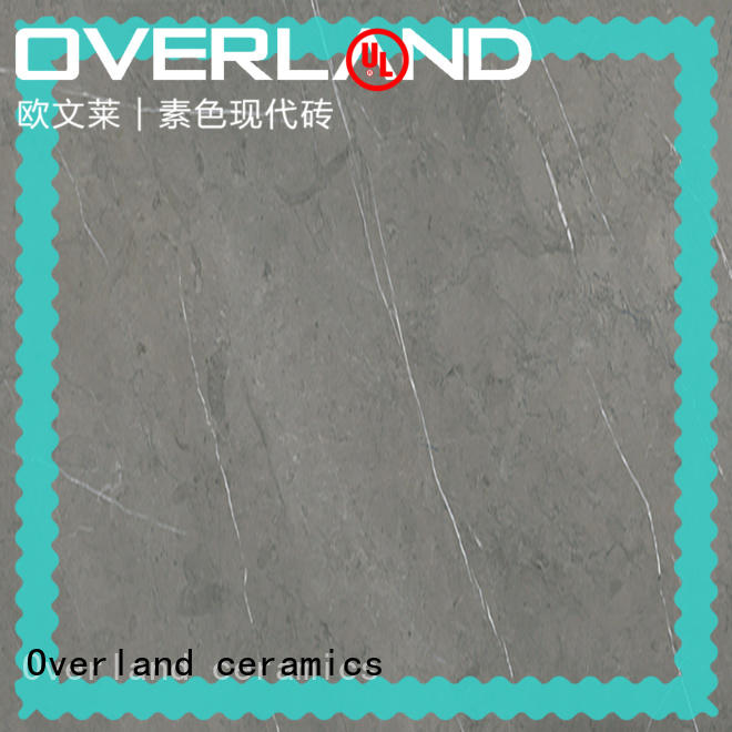Overland ceramics mosaic polished marble tile from China for pool