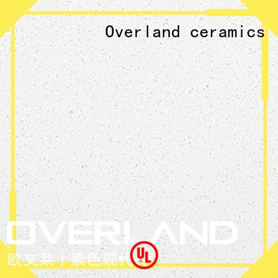 Overland ceramics laminate worktops factory price for bathroom
