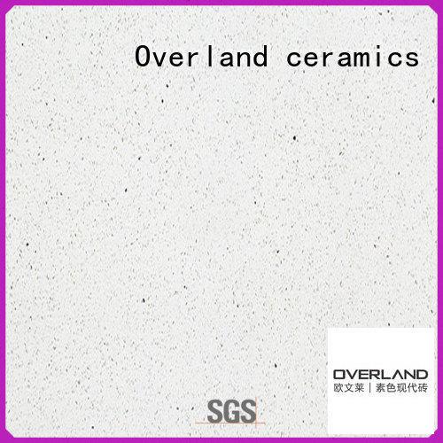 Overland ceramics types bathroom ceramic tile factory price for livingroom
