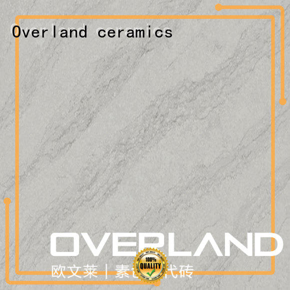 Overland ceramics high gloss black kitchen worktops from China for bathroom