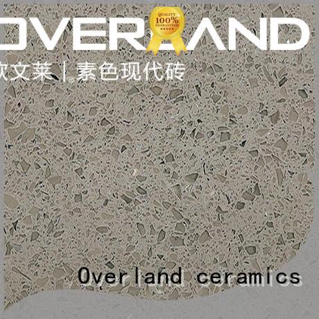Overland ceramics quartz worktops wholesale for bedroom