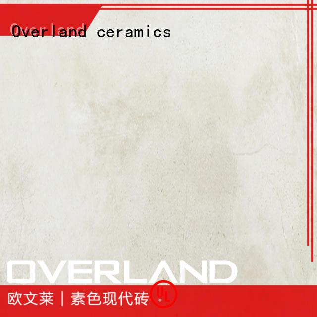 Overland ceramics slab decorative stone tiles factory price for bathroom