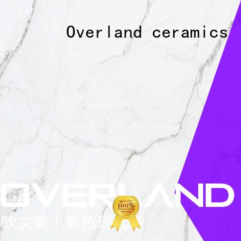 Overland ceramics stone tile showroom on sale for kitchen