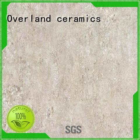 Overland ceramics porcelain black and white cement tile supplier for home