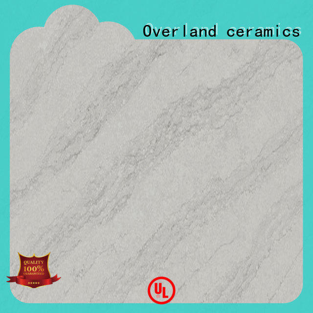 Overland ceramics work square edge laminate worktop from China for pool