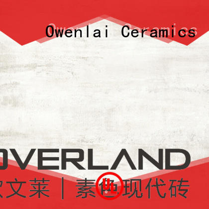 Overland Brand tiles tile illusion wood tile manufacture