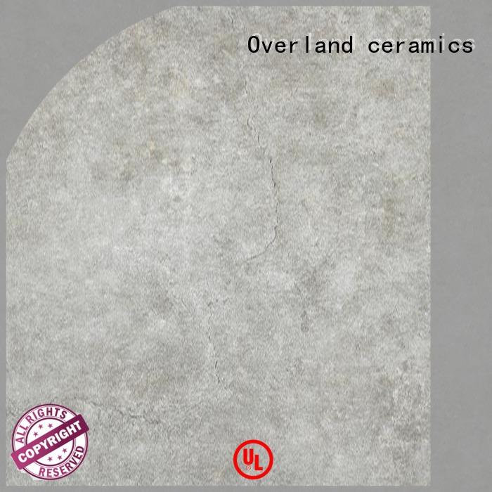 Overland ceramics patterned floor cement tile canada wholesale for garden