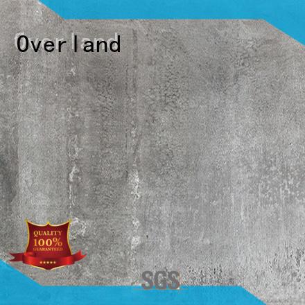 Overland concrete cement porcelain tile supplier for apartment