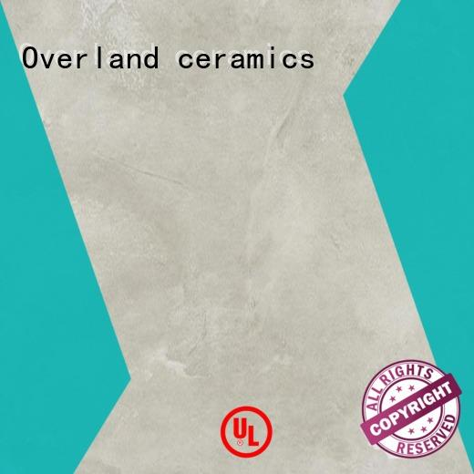 Overland ceramics concrete cement tile bathroom design for Villa