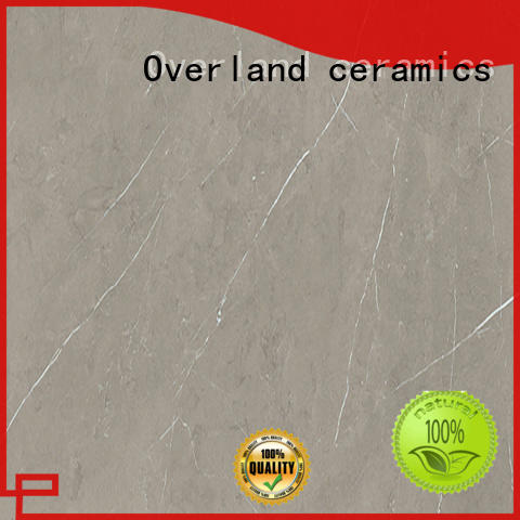 Overland ceramics best marble floor tile design for bathroom