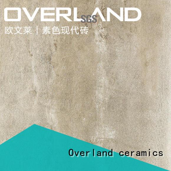 Overland ceramics shower floor cement wall tile design for apartment