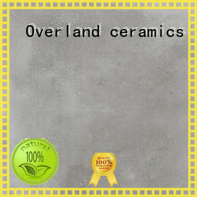 Overland ceramics mosaic black and white cement tile supplier for home