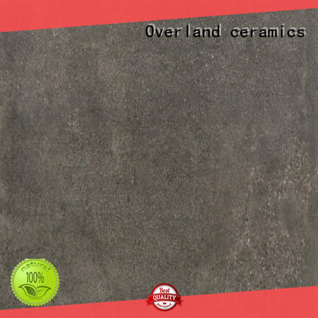 Overland ceramics stronger 12x12 stone tile wholesale for bathroom