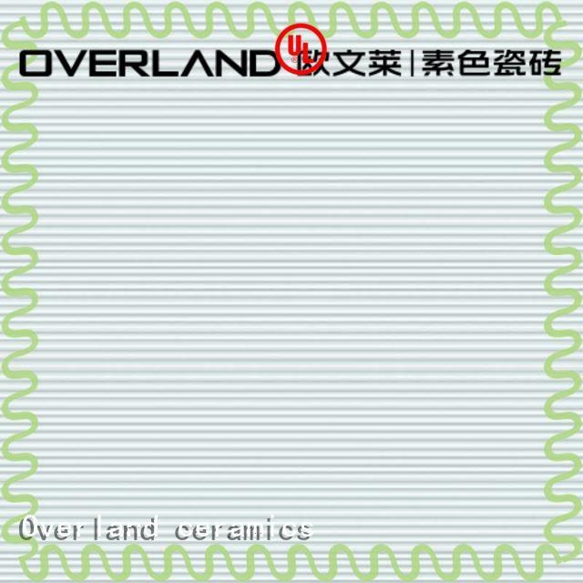 Overland ceramics grey marble floor tiles design for garden