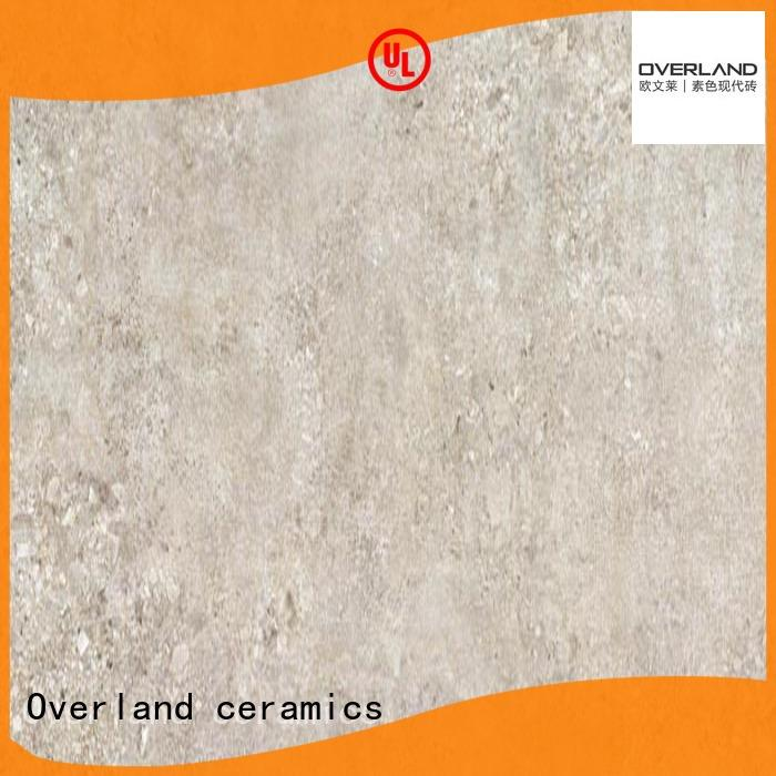 Overland ceramics wall black and white cement tile wholesale for Villa