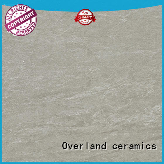 Overland ceramics grey stone bathroom tiles from China for bathroom