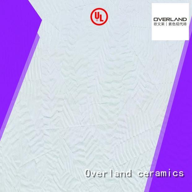 Overland ceramics cusotm honed marble tile manufacturers for hotel