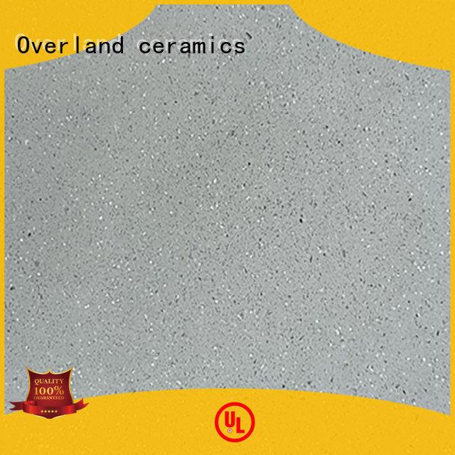Overland ceramics white black kitchen worktops design for garage floor