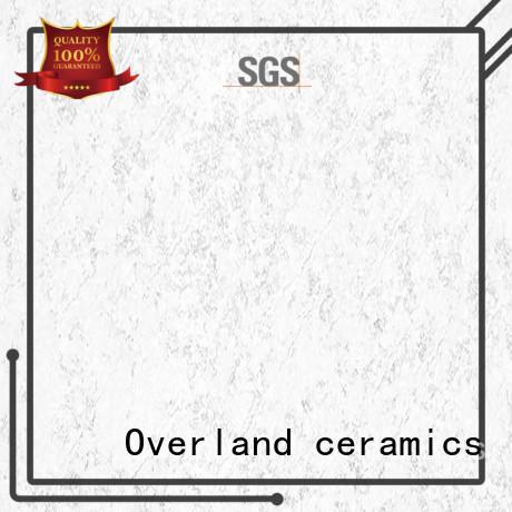 Overland ceramics cover white floor tiles design for livingroom
