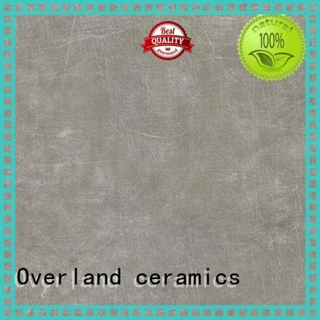 Overland ceramics mosaic cement look porcelain tile supplier for hotel