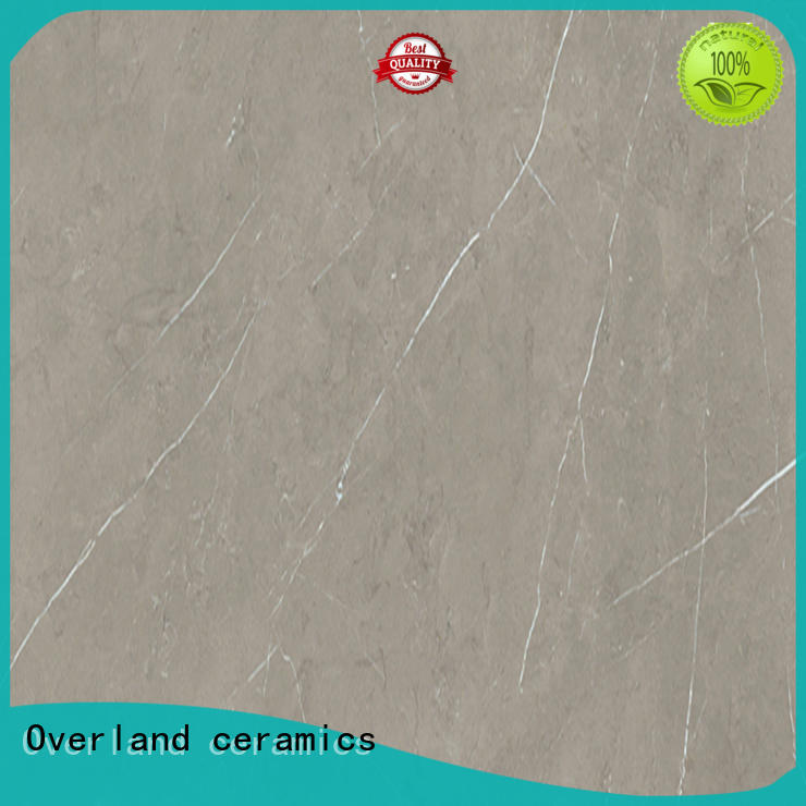 Overland ceramics marble black marble floor tile design for bathroom