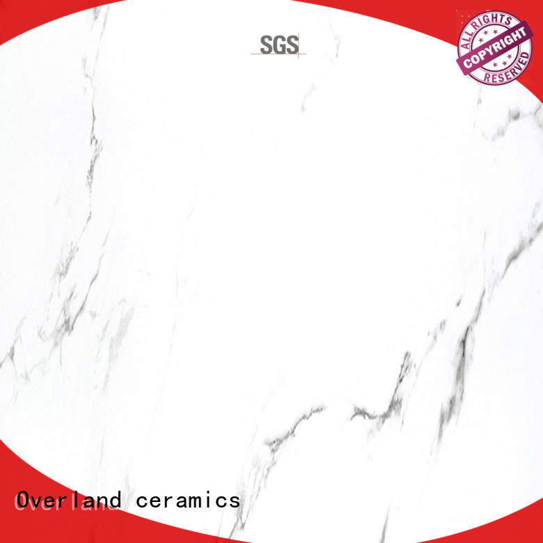Overland ceramics london marble bathroom floor from China for pool