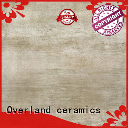Overland ceramics slate wood style tiles from China for bathroom