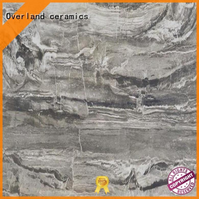Overland ceramics natural black marble tile price for bedroom